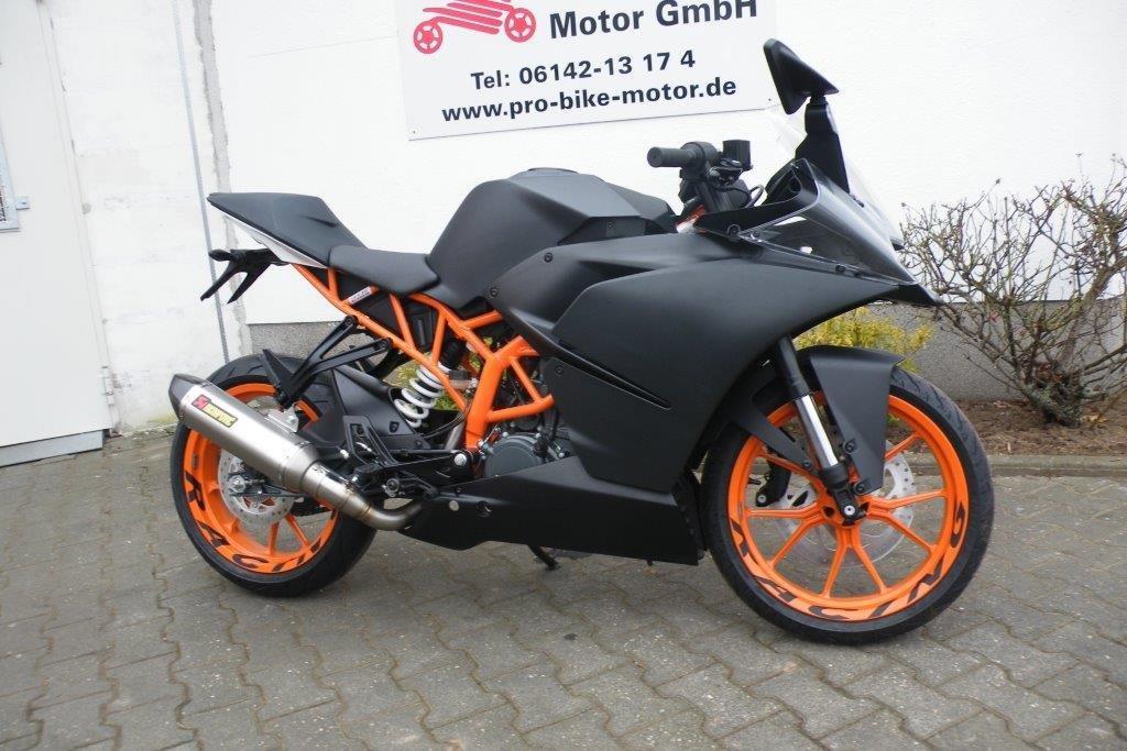 Ktm Rc Motor