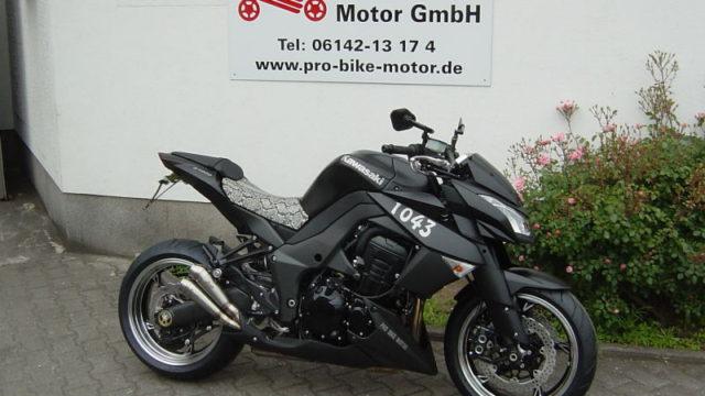 Kawasaki Z 1000 Black