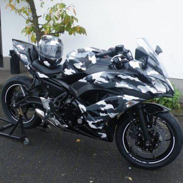 Kawasaki Ninja 650 Winter-Camouflage